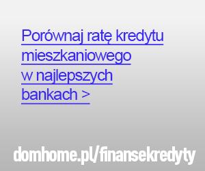 Porównanie kredytów mieszkaniowych