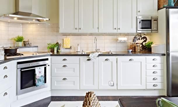 Właściwie urządzona kuchnia  domhome pl -> Kuchnia Weglowa Obi