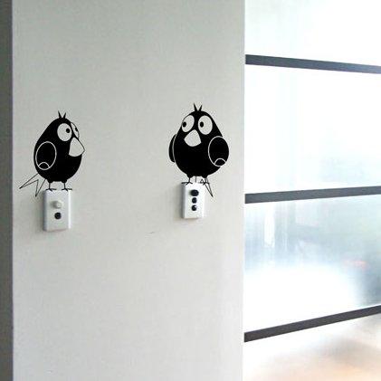 naklejki na ścianę w salonie